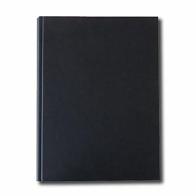"""K&P Hardbound Sketchbook 100gsm 112pgs - A4/8.3"""" x 11.7"""" - Black"""