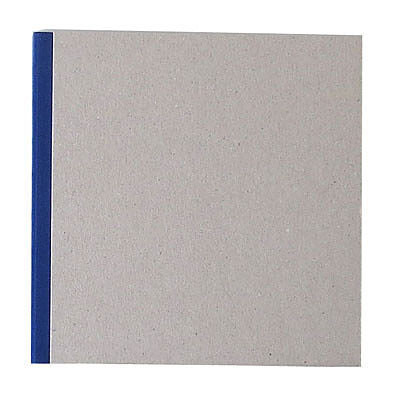 """Pasteboard Cover Sketchbook 120gsm 132pgs - 29cm x 29cm/11.4"""" x 11.4"""" - Blue"""