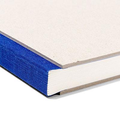 Pasteboard Cover Sketchbook - Blue Binding
