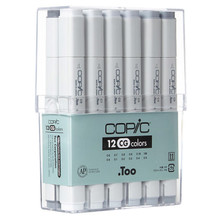 Copic Sketch Set 12 Cool Gret