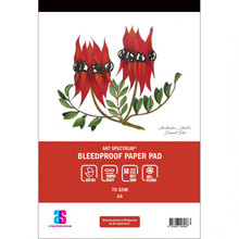 ART SPECTRUM BLEED PROOF PAD A4 70gsm - 50 sheets