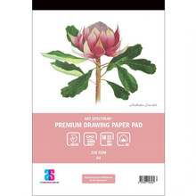 ART SPECTRUM PREMIUM DRAWING PAD A4 210gsm - 50 sheets