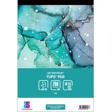 ART SPECTRUM YUPO PAD A4  - 200gsm - 10 sheets