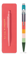 849 PAUL SMITH Ballpoint pen with slim case CORAL PINK - Limited Edition | 849.582