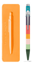 849 PAUL SMITH Ballpoint pen with slim case ORANGE - Limited Edition | 849.800