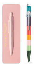 849 PAUL SMITH Ballpoint pen with slim case ROSE PINK - Limited Edition | 849.471