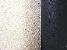 "Wendy Sharpe Black Gesso Primed Canvas 12oz 60"" (1.55m x 6m)"
