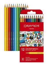 School Line Permanent Colour Pencils 12 Box   1291.712