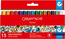 School Line Watersoluble Wax Pastels 15 Box | 7502.715