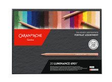 ARTIST LUMINANCE 6901 PORTAIT ASSORTMENT 20 PC-FSC | 6901.920
