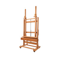 MABEF M02+ Studio Easel Double Mast Crank For Elev + In