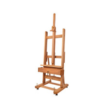 MABEF M04+ Studio Easel With Crank For Elev + Inc