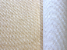 POLYESTER 100% POLYESTER 12OZ 4 COATS PRIMED SMOOTH (2.2M X1M) AUSTRALIAN