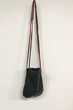 RCP Leather Strolling Bag (shiny black)