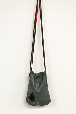 RCP Leather Strolling Bag (pebbled grey)