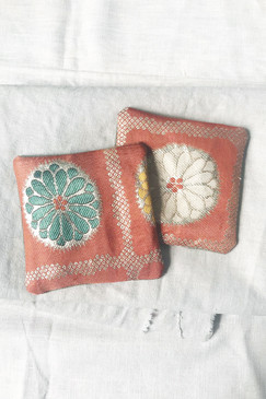 Ornate Remnant Coaster Pairs X 2 (one pair available)