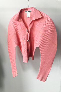 Issey Miyake Pleated Blouse (M)