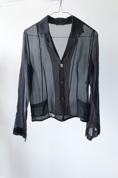 T. L. Wood Silk Jacket (XS/S)