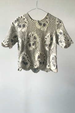 Vintage Lace Tee (XS or S)