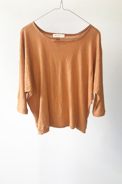 Milly S. Dolman Sleeve Knit Top