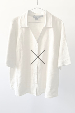 Style & Co. Linen Blouse (L/XL)