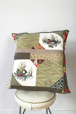 Milly S. Patchwork Cushion - Last Wood Duck (Large)