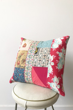 Milly S. Patchwork Cushion - Weekend Dreaming (small)