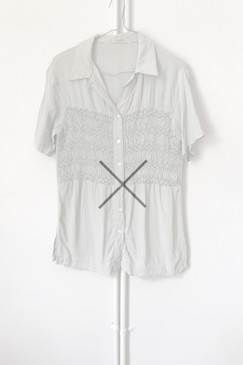 Unlabelled smocked blouse (S)