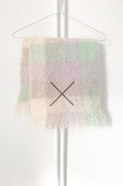 Andrew Stewart Mohair Scarf (more lilac)