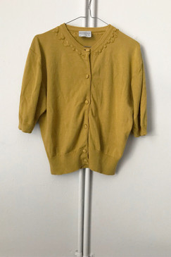 Country Road Cotton Cardigan (L)
