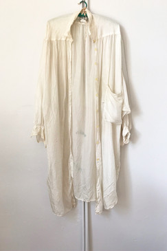 Oversized Vintage Silk Shirt (one size)