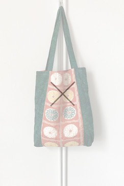 Milly S. Tote (Japanese vintage textiles - day, by day)