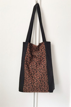 Milly S. Tote (Japanese vintage textiles  - dried flower)