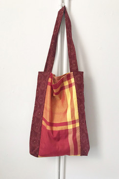 Milly S. Tote (Japanese vintage textiles - cross check)