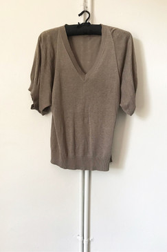 Scanlan & Theodore Linen/Cotton Top (S/M)