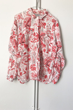 Adele Palmer Cotton Shirt (S)