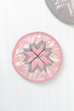 Around About Trivet (small - pinks)
