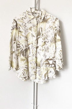 Soft Jungle Linen Shirt (S)