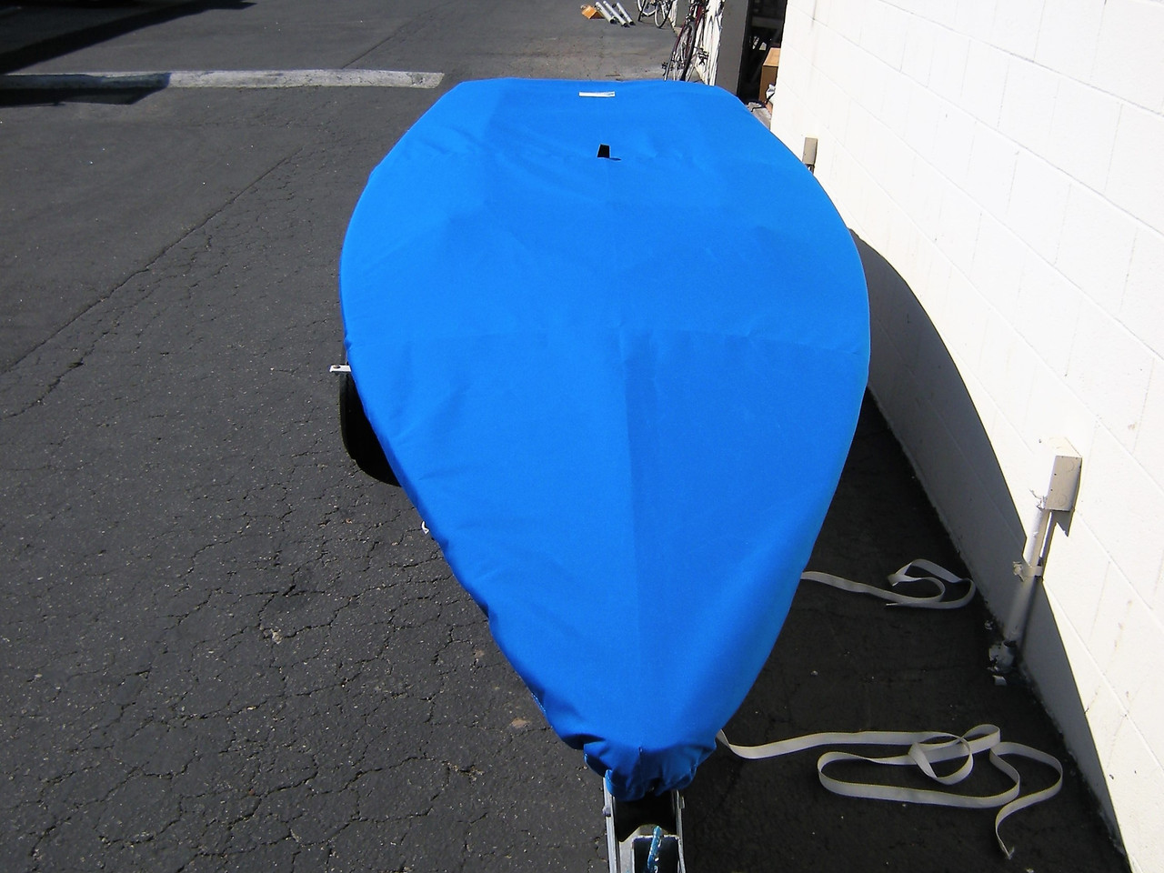 Flying Junior sailboat Top Cover by SLO Sail and Canvas