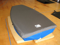 Naples Sabot Sailboat Top Cover by SLO Sail and Canvas