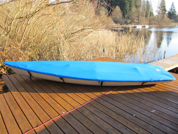 Laser Top Deck Sailboat Cover by SLO Sail and Canvas.