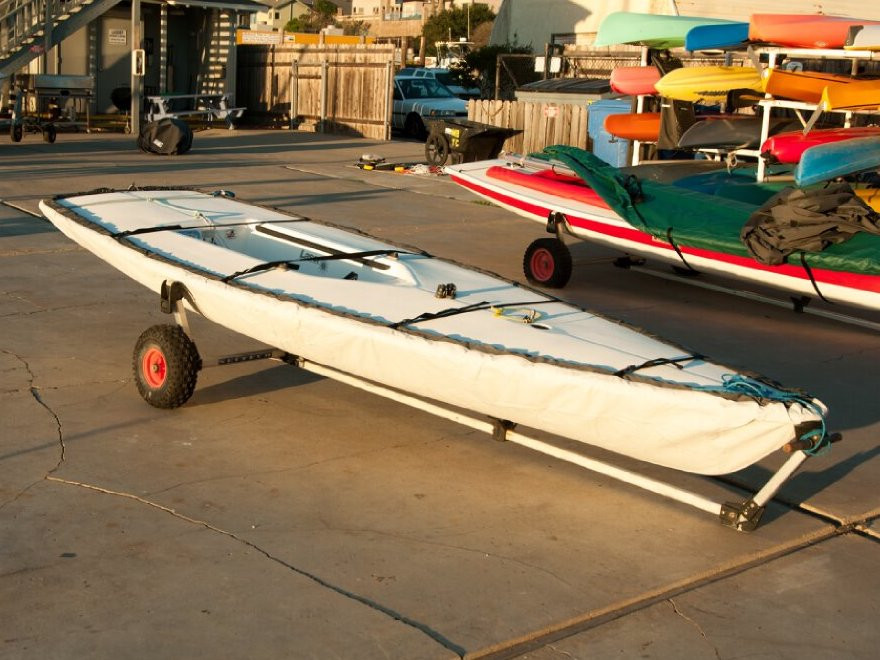 Laser Hull Cover by SLO Sail and Canvas. Straps with plastic Fastex® buckles included.