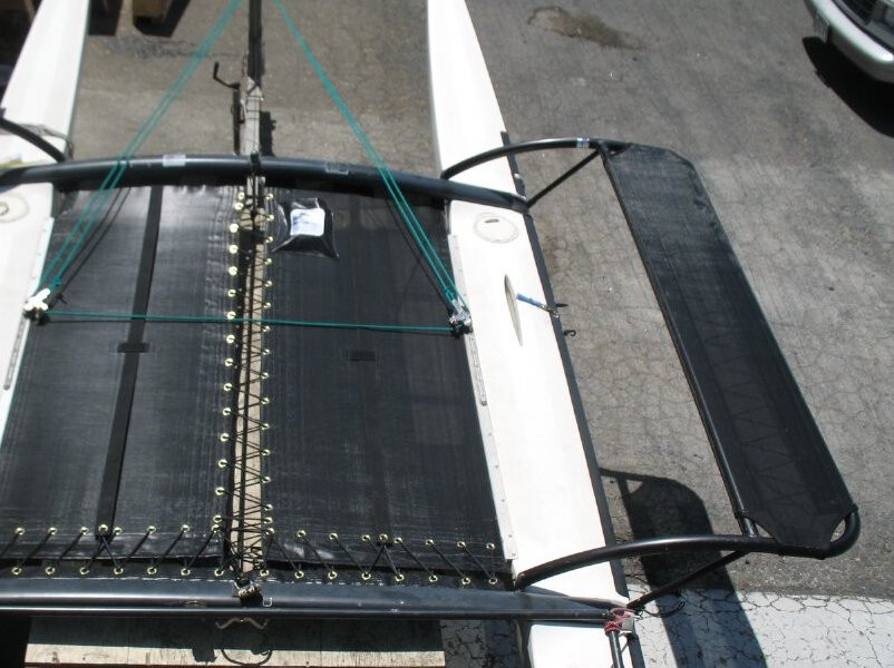 Shown in 8oz basket weave black Polypropylene mesh.
