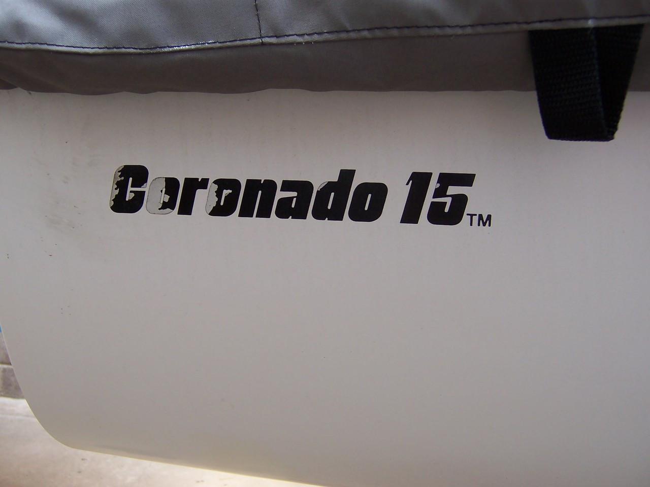 Coronado 15 sailboat Top Cover by SLO Sail and Canvas