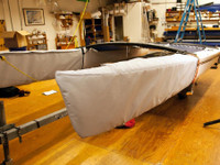Bow Covers to fit a Hobie 17 catamaran by SLO Sail and Canvas.
