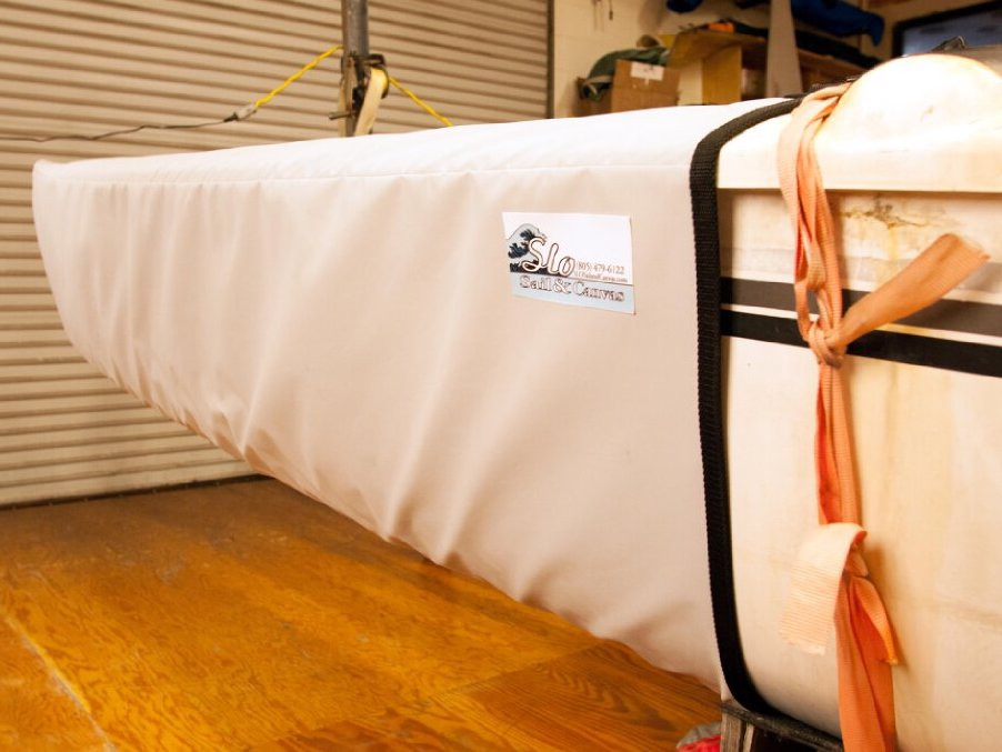 SLO Sail and Canvas makes bow covers to fit Hobie 17 Catamarans.
