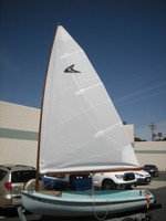 Kite Mainsail - White