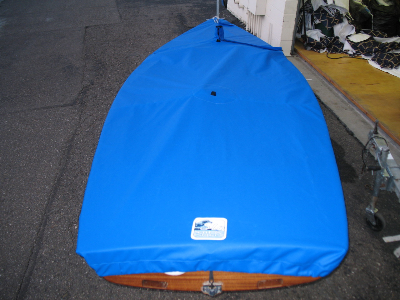 International Contender Mooring Cover by SLO Sail and Canvas