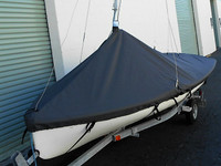 Mast Up Peaked Cover to fit an Apollo 16 by SLO Sail and Canvas