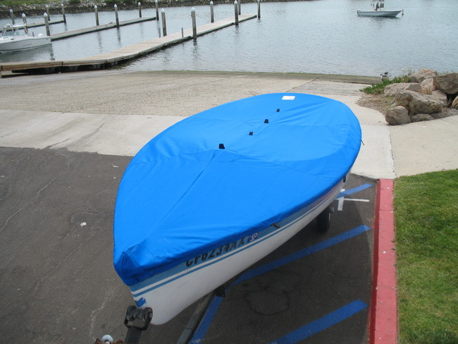 Cover shown in Polyester Royal Blue. Available in 3 fabrics and many color choices.